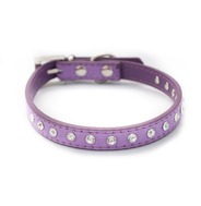 Lilac Diamante Collar