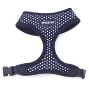 Black Polka Dot Harness