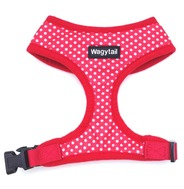 Red Polka Dot Harness  - Small