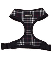 Black Plaid Harness *discontinued*