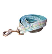 Blue Polo Plaid Lead