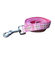 Pink Polo Plaid Lead