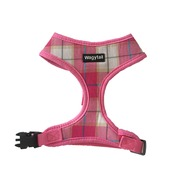 Pink Plaid Harness - small & large