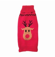 Red Reindeer Jumper