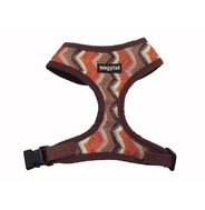 Brown Zig Zag Harness - Small