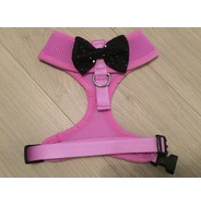 Lilac harness with a bow