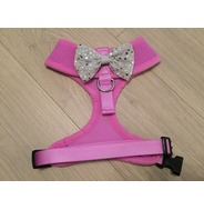 Lilac Harness With Silver Handmade Sequin Bow