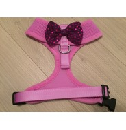 Lilac Harness With Purple Handmade Sequin Bow