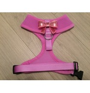 Lilac Harness With Small Pink Sequin Bow