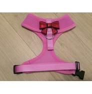 Lilac Harness With Small Red Sequin Bow