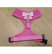 Lilac Harness With Small White Sequin Bow