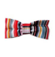 Stripe Rainbow Bow Tie