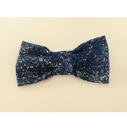 Blue Splash Bow Tie