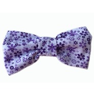 Floral Meadow Lilac Bow Tie