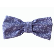 Floral Lilac Bow Tie