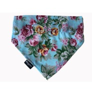 Floral Blue Rose Bandana