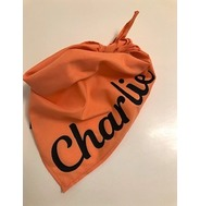 Personalised Orange Bandana