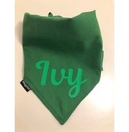 Personalised Green Bandana