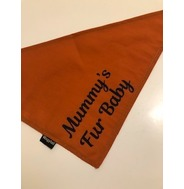 Personalised Burnt Orange Bandana
