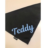 Personalised Black Bandana