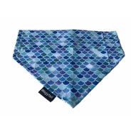 Mermaid Blue Scales Bandana