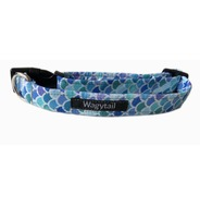 Mermaid Blue Scales Collar