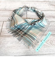 Winters Morning Frayed Bandana