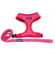 Red Polka Dot Harness