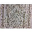 Knitted Jumper - Cream (With Gold Glitter Wool)