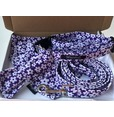Funky Purple Daisies Collar