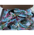Floral Blue Rose Collar